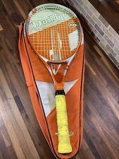 Dunlop M Fil 5 Hundred Tennis Racquet 4 3/8 105 Sq With Bag. Needs Grip
