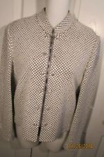 St. John Evening by Marie Gray evening jacket, 4, gray with piquetts, rhinestone