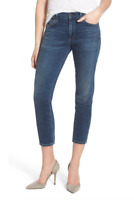CITIZENS OF HUMANITY Agnes Crop MidRise Slim Straight Skinny Blue 24 $238 #23,12