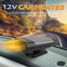 150W 12V Car Heater Heating Fan Dashboard Windscreen Demister Defroster Black UK