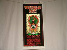 WIDESPREAD PANIC Red Rocks Summer 2002 Signed hand-numbered POSTER Tidwell Wood