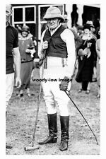 rp10604 - Winston Churchill at Ranelagh after Playing Polo - photograph 6x4