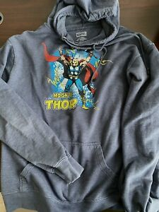 Mighty Thor Avengers Infinity War Endgame Hoodie Sweatshirt Marvel Comics XL