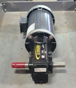 NEW MARATHON 2 HP ELECTRIC MOTOR W/ WINSMITH E20 GEAR REDUCER E20MWNS063X0B7