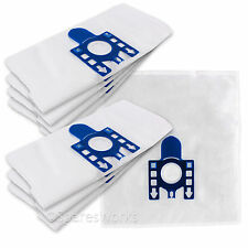 10 x Miele GN S402I S4441 S5181 S5510 S408I S444I Vacuum Dust Bags & 2 Filters