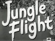JUNGLE FLIGHT ~ Robert Lowery, Ann Savage 1947  region free DVD