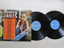 COUNTRY GIANTS 2 LP SET, SKEETER DAVIS, DOTTIE WEST, ETC: 1972 RCA/CAMDEN V.G.C.