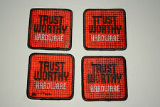 4 Vintage Trust Worthy Hardware Store Patch Damaged NOS 1970s