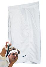 Nuevo Nike Hombre Superior Drifit Pantalones Tenis Blanco S PEQUEÑA