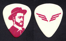 Mumford & Sons White/Red Promotional Guitar Pick - 2019