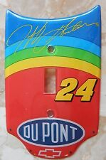 New Jeff Gordon #24 DuPont Hood Light Switch Cover