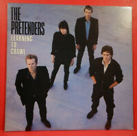 THE PRETENDERS LEARNING TO CRAWL LP 1984 ORIGINAL GREAT CONDITION! VG++/VG++!!D