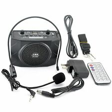 Portable Waistband Amplifier Microphone Voice Loud Booster Amplifier MP3 Speaker