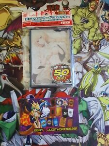 ♦️ Yu-gi-oh 50 Protège Carte Sleeve Magicienne Light Version Girl Sexy