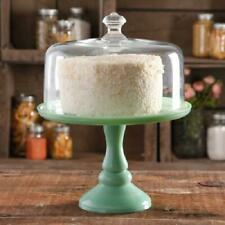 THE PIONEER WOMAN - TIMELESS BEAUTY 10 CAKE STAND DOME - JADITE GREEN
