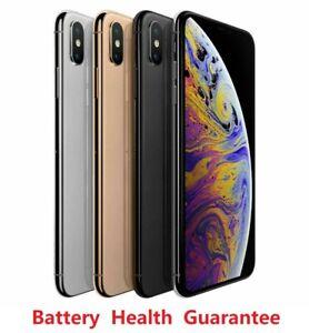Apple iPhone Xs Max  / 64GB / 256GB / 512GB / Unlocked Verizon AT&T T-Mobile