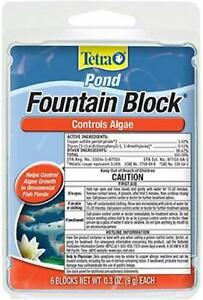 Tetra Pond Fountain Block Anti-Algae Control, 6 Blocks