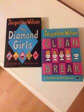 Jacqueline Wilson Hardback Books Two