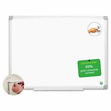 Mastervision Earth Easy Clean Dry Erase Board Whitesilver 24x36 Ma0300790