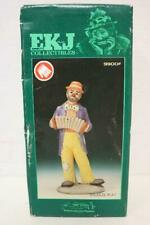 """Flambro Emmett Kelly Jr Signature Collection """"Squeeze Play"""" 9900F Clown Figurine"""