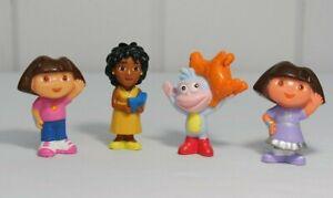 Lot of 4 Dora the Explorer Figures Dora, Boots, La Maestra Beatriz