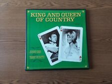 1969 VG-RARE JOHNNY CASH/t. wynette King & Queen Of Country P4S5328 SET 4 LP33