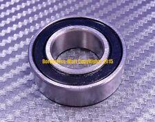 [2 Pcs] 15268-2RS (15x26x8 mm) Rubber Sealed Ball Bearing Bearings 15268RS BLACK