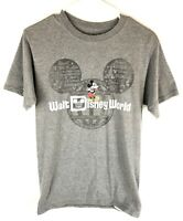 Walt Disney World Mickey Mouse Mens T-Shirt S Parks Gray Disney Parks Small