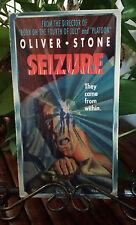 Rare SEIZURE vhs / Oliver Stone horror film