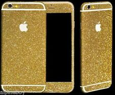 Full Body Wrap Decal Vinyl Glitter Sticker Skin Cover For Apple iPhone Samsung