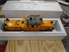 LGB 20670 TRACK CLEANING LOCOMOTIVE - YELLOW -