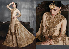 wedding wear punjabi frock suit churidar dress indian pakistani salwar kameez