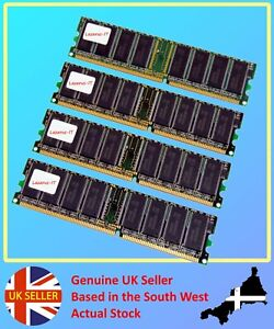 Desktop DDR2 Memory Dimms Choice of Speed & Capacities