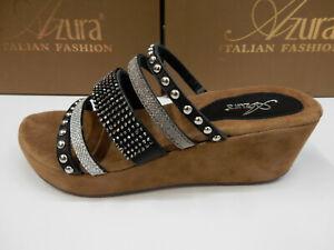 Azura Womens Oletha Black Multi 38