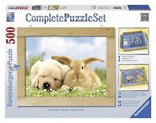 Ravensburger 14890. Ensemble Complet puzzle avec cadre 500 PC. Amigos