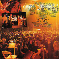 In Concerto by Fabrizio De André with P.F.M. (CD, 2002, BMG) Italian Folk Legend