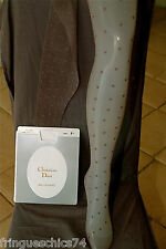 tights polyamide silk brown ombre CHRISTIAN DIOR SLIM MARYSA T 8 1/2 (1) NEW