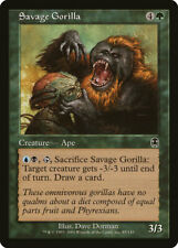 Magic MTG Tradingcard Apocalypse 2001 Savage Gorilla 85/143