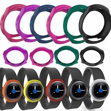 10pcs Sleeve Protector Rubber Band Case Cover for Samsung Galaxy Gear S2 Watch