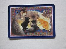 ONE SWAP CARD - FABULOUS CATS - KITTENS - ART - STUNNING -  Unused