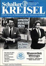 II. BL 88/89 FC Schalke 04 - 1. FSV Mainz 05, 02.05.1989, Peter Neururer