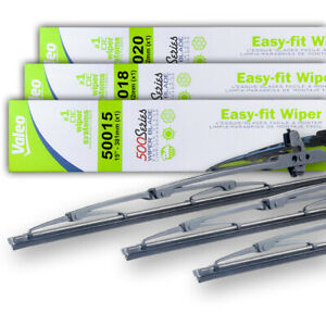 "NEW OEM 15""&18""&20"" WIPER BLADE SET FITS ACURA EL 97-98 GEO METRO 89-90 8244326"