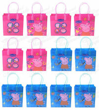 Nickelodeon Peppa Pig Party Favor Supplies Goody Loot Gift Bags [12ct]