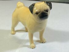 "Pug Dog in Fawn Beswick England Miniature Dog Figurine 2 5/8"" Free Shipping!"
