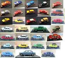 LOT OF 30 CARS 1:43 DIECAST - LEGENDARY VOLGA DACIA LADA ARO MODEL CAR USSR IXO