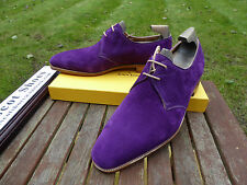 VT669 John Lobb - WILLOUGHBY - Regal Purple Suede - UK 6.5 F - 8000 Last