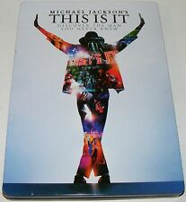 THIS IS IT : Michael Jackson--- (DVD Steel Book 2 Disc Set)