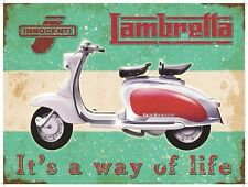 Scooter, It's a way of Life, Classic/Vintage Mod, Large Metal/Tin Sign
