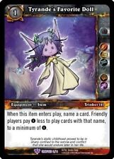 ~ WOW TCG TYRANDE'S FAVORITE DOLL CRAFTED PROMO MINT INGLESE