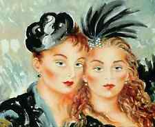 JOANNA ZJAWINSKA Lu Lu & Lili ARTIST'S PROOFS Canvas 9/50 Only ONE on Ebay COA
